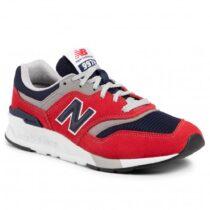 Sneaker Uomo New Balance Lifestyle Rossa - NBCM997HBJ