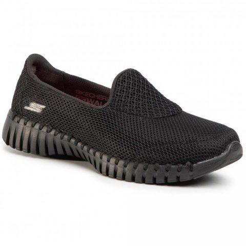 Mocassino Donna Skechers Go Walk Smart Nero - 16700BBK