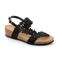 Sandalo Donna Grunland Memi Nero - SB159370