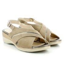 Sandalo Donna Stonefly Vanity III 20 Taupe Brown - 213790075