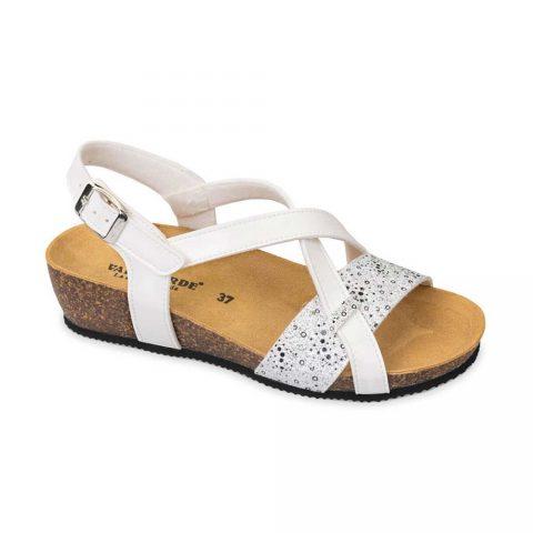 Sandalo Donna Valleverde Fussbett Bianco - G51234V