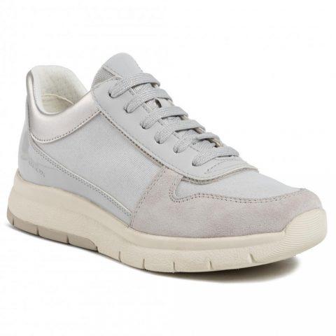 Sneaker Donna Geox D Callyn B Grigia - D029GB0EWHHC1010