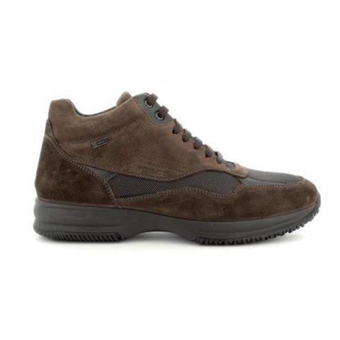 Sneaker Alta Uomo Igi&Co in Camoscio Marrone - 6117411