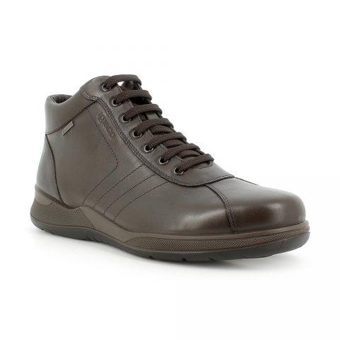 Sneaker Alta Uomo Igi&Co in Pelle Marrone - 6119311