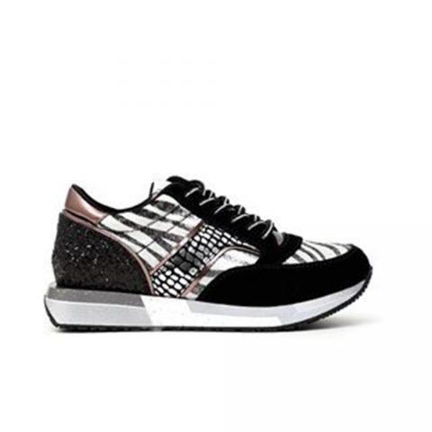 Sneaker Donna Cafè Noir Multicolore Nero - DL617