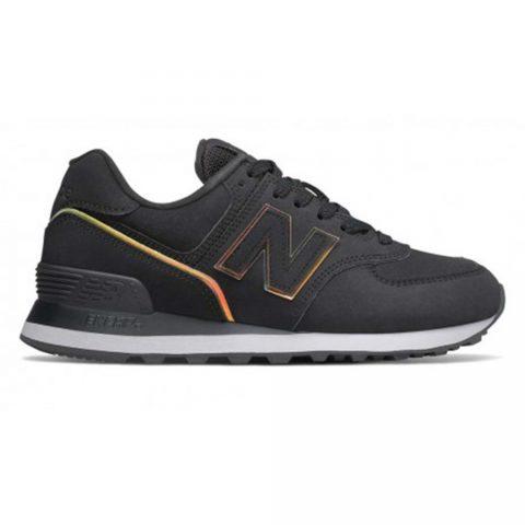 Sneaker Donna New Balance in Pelle Nera - WL574CLG