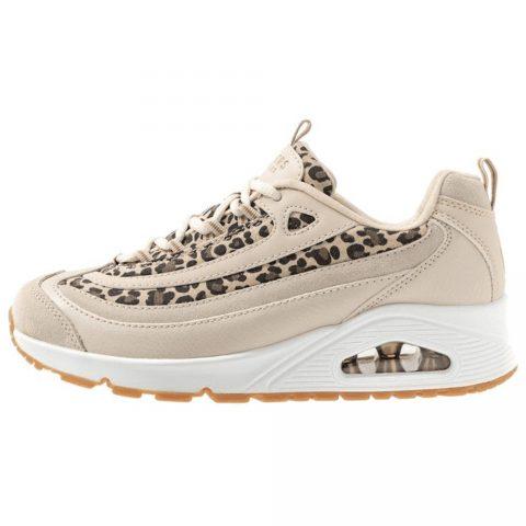 Sneaker Donna Skechers Wild Streets Bianca Leopardata - 73674WHLD