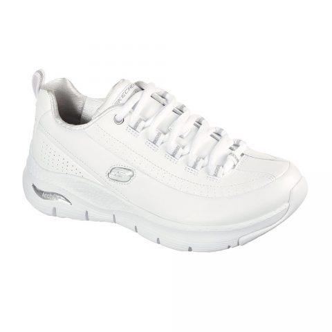 Sneaker Running Donna Skechers Arch Fit Bianca - 149146WSL