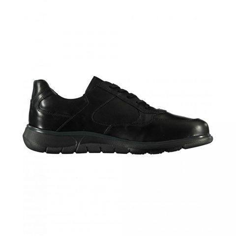 Sneaker Uomo Nero Giardini in Pelle Nera - I001710U100