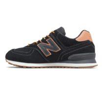 Sneaker Uomo New Balance in Camoscio Nera - ML574XAB