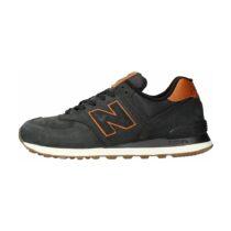 Sneaker Uomo New Balance in Pelle Nera - NBML574NBI