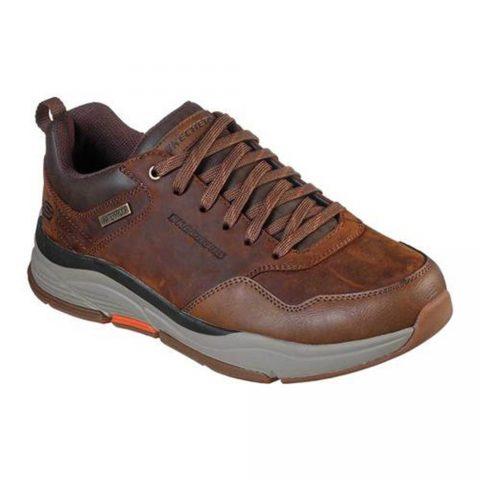 Sneaker Uomo Skechers Benago Hombre Marrone - 210021CDB