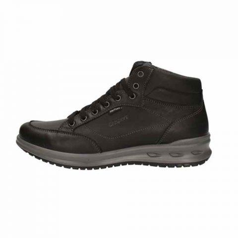 Sneaker Alta Uomo Grisport in Pelle Nera - 43019
