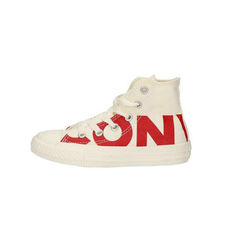 Sneaker Bambino Converse Chuck Taylor all Star Bianca e Rossa