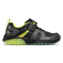 Sneaker RagazzO Geox J Spaziale B. A Nera e Lime - J04CQA054CEC0802