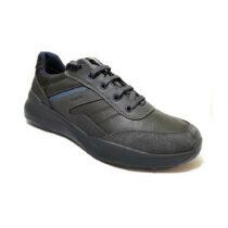Sneaker Uomo Geox U Allenio B Antracite - U04AZBOEKMEC9004
