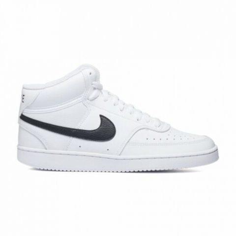 Sneaker Uomo Nike Ebernon Mid Bianca - CD5466101