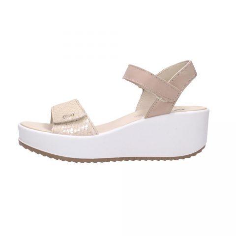 Sandalo Donna Igi&Co in Pelle Beige - 7164233