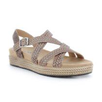 Sandalo Donna Igi&Co in Pelle Fango - 7168222