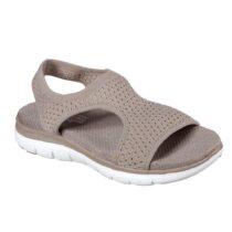 Sandalo Donna Skechers Deja Vu Taupe - 31674TPE