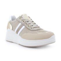 Sneaker Donna Igi&Co in Pelle Beige - 7159022