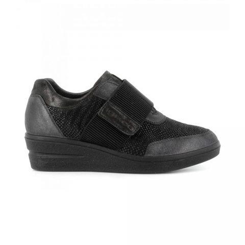 Sneaker Donna Igi&Co in Pelle Nera - 6153500