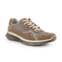 Sneaker Uomo Igi&Co in Camoscio e Tessuto Fango - 7120400