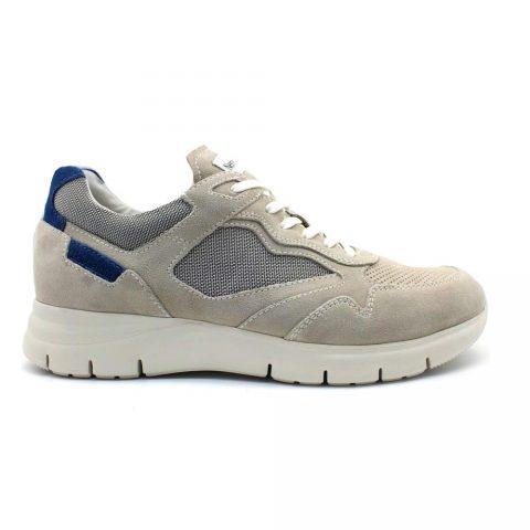Sneaker Uomo Nero Giardini Colorado Grigia - E101966U112