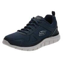 Sneaker Uomo Running Skechers in Tessuto Blu - 52631NVY