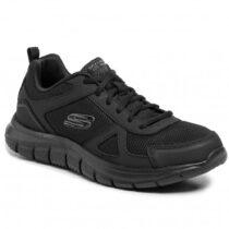 Sneaker Uomo Running Skechers in Tessuto Nera - 52631BBK