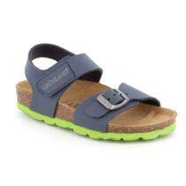 Sandalo Bambino Grunland Junior Luce Blu Lime - SB023440