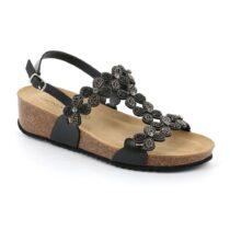 Sandalo Donna Grunland Anin Nero - SB159570