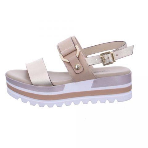 Sandalo Donna Nero Giardini Etoile Miele - E115751D418