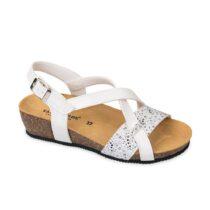 Sandalo Donna Valleverde Fussbet Bianco - G51234V