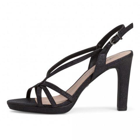 Sandalo con Tacco Donna Tamaris Nero Glam - 112833526047