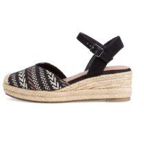 Sandalo con Zeppa Donna Tamaris Nero - 112960626098