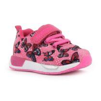 Sneaker Bambina Primigi Baby Mega con Farfalle Fucsia - 7447500