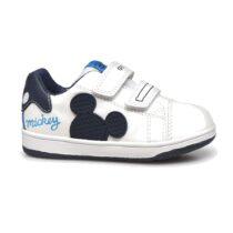 Sneaker Bambino Geox Flick Topolino Bianca - B151LA08554C0899