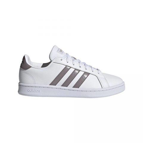 Sneaker Donna Adidas Grand Court Bianca Grey - FY8931