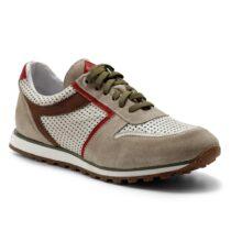Sneaker Uomo Exton in Camoscio Beige - 346