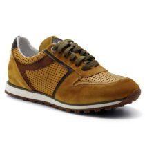 Sneaker Uomo Exton in Camoscio Ocra - 346
