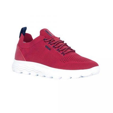 Sneaker Uomo Geox Spherica Rossa - U15BYA0006KC7000