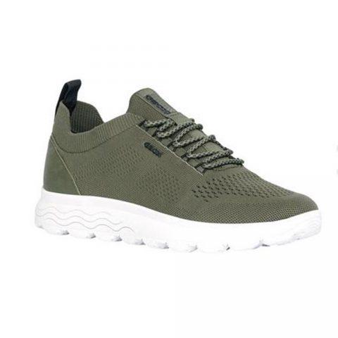 Sneaker Uomo Geox Spherica Verde - U15BYA0006KC3704