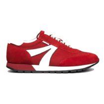 Sneaker Uomo Nero Giardini Colorado in Camoscio Rosso - E102041U616