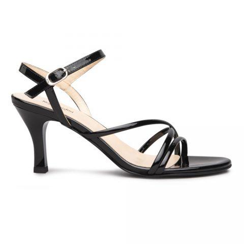 Sandalo Donna Nero Giardini Vernice Nero - E116560DE100