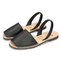 Sandalo Donna Ria Menorca Metalgrain Black - 20002S2