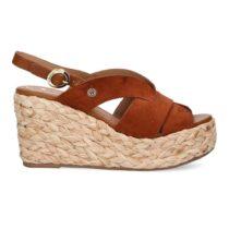 Sandalo Donna Wrangler Malaga Batida Cuoio - WL11641AW0068