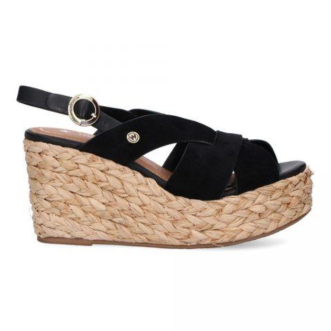 Sandalo Donna Wrangler Malaga Batida Nero - WL11641AW0062