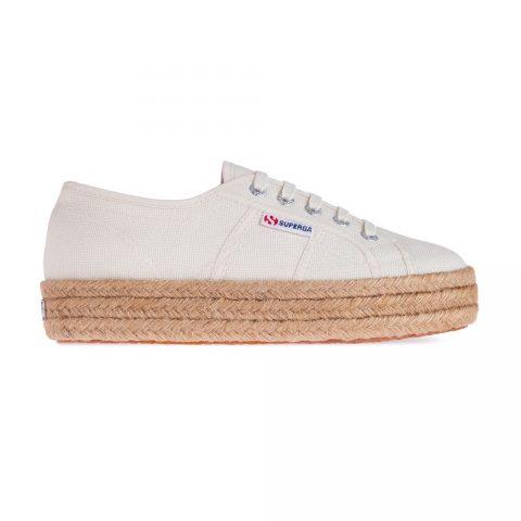 Sneaker Donna con Zeppa Cotropew Beige Superga - S00CF20