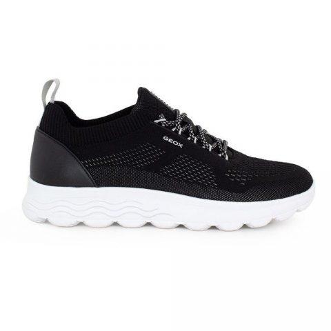 Sneaker Uomo Geox Spherica Nera - U15BYA0006KC9999